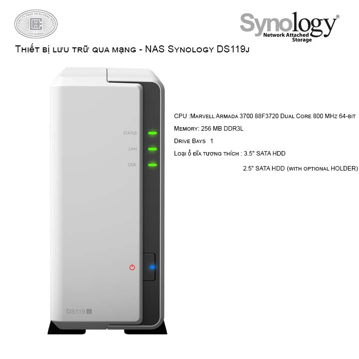 NAS Synology DiskStation DS119j