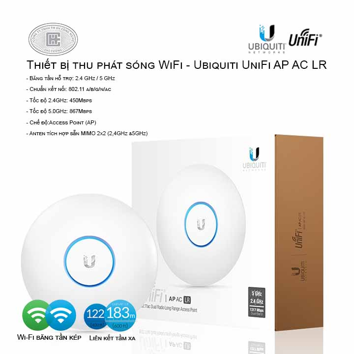 Access Point Wifi Ubiquiti UniFi AP-AC-LR
