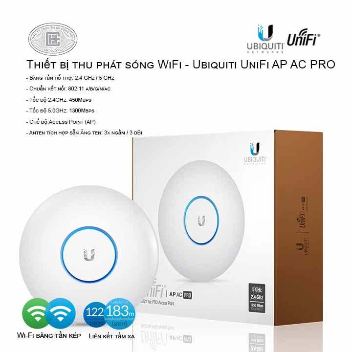 Access Point Wifi UniFi AP-AC-PRO