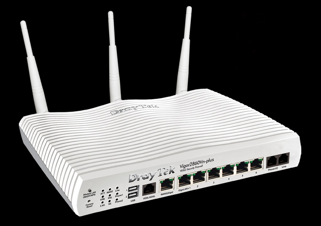 Router Draytek Vigor 2860n - DSL/ADSL2+ Wireless N