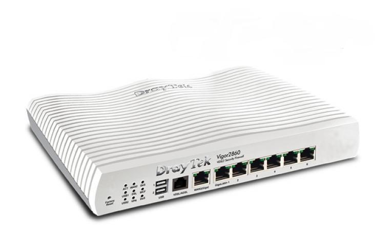 Router DrayTek Vigor 2860 - VDSL/ADSL2+ & FTTH