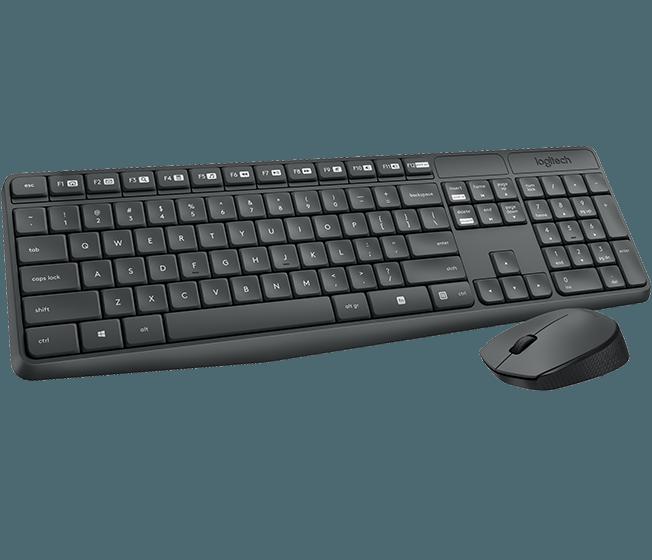 BỘ BÀN PHÍM + CHUỘT LOGITECH Wireless Combo MK235