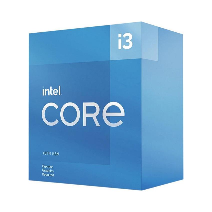 CPU Intel Core i3-10105F (3.7GHz turbo up to 4.4Ghz, 4 nhân 8 luồng, 6MB Cache, 65W) - Socket Intel LGA 1200