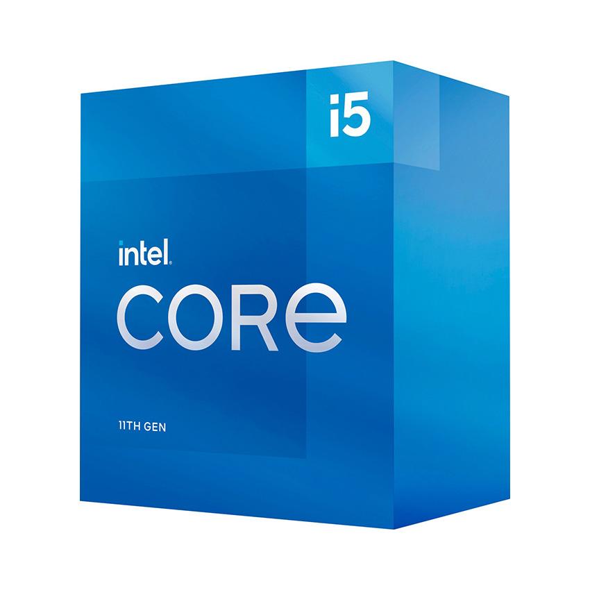 CPU Intel Core i5-11400 (2.6GHz turbo up to 4.4Ghz, 6 nhân 12 luồng, 12MB Cache, 65W) - Socket Intel LGA 1200