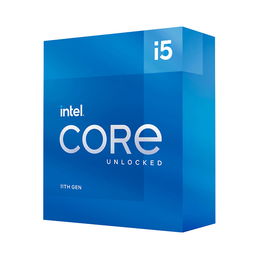 CPU Intel Core i5-11600K (3.9GHz turbo up to 4.9Ghz, 6 nhân 12 luồng, 12MB Cache, 125W) - Socket Intel LGA 1200