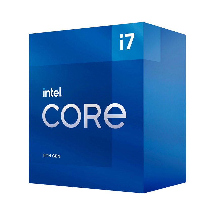 CPU Intel Core i7-11700 (2.5GHz turbo up to 4.9Ghz, 8 nhân 16 luồng, 16MB Cache, 65W) - Socket Intel LGA 1200