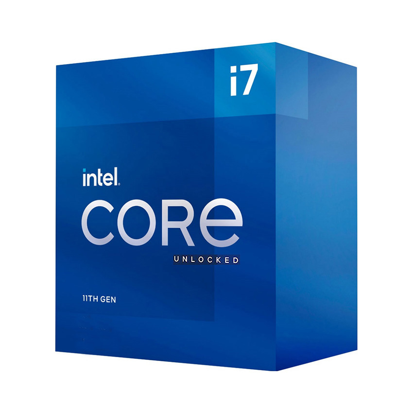 CPU Intel Core i7-11700K (3.6GHz turbo up to 5Ghz, 8 nhân 16 luồng, 16MB Cache, 125W) - Socket Intel LGA 1200