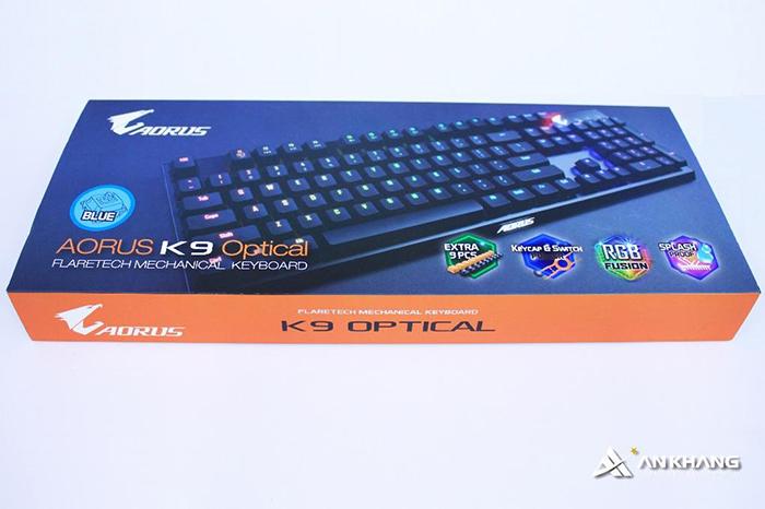 Bàn phím gigabyte  gaming AORUS K9