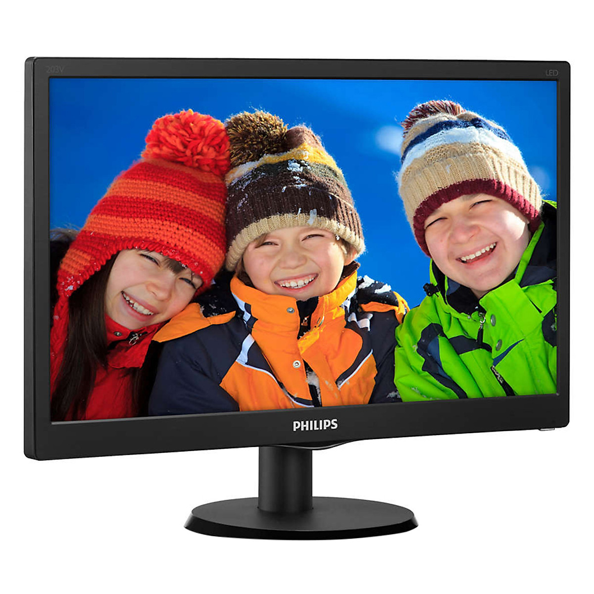 Màn hình LCD Philips 19.5″ 203V5LHSB2 (1600 x 900/60Hz/6 ms)