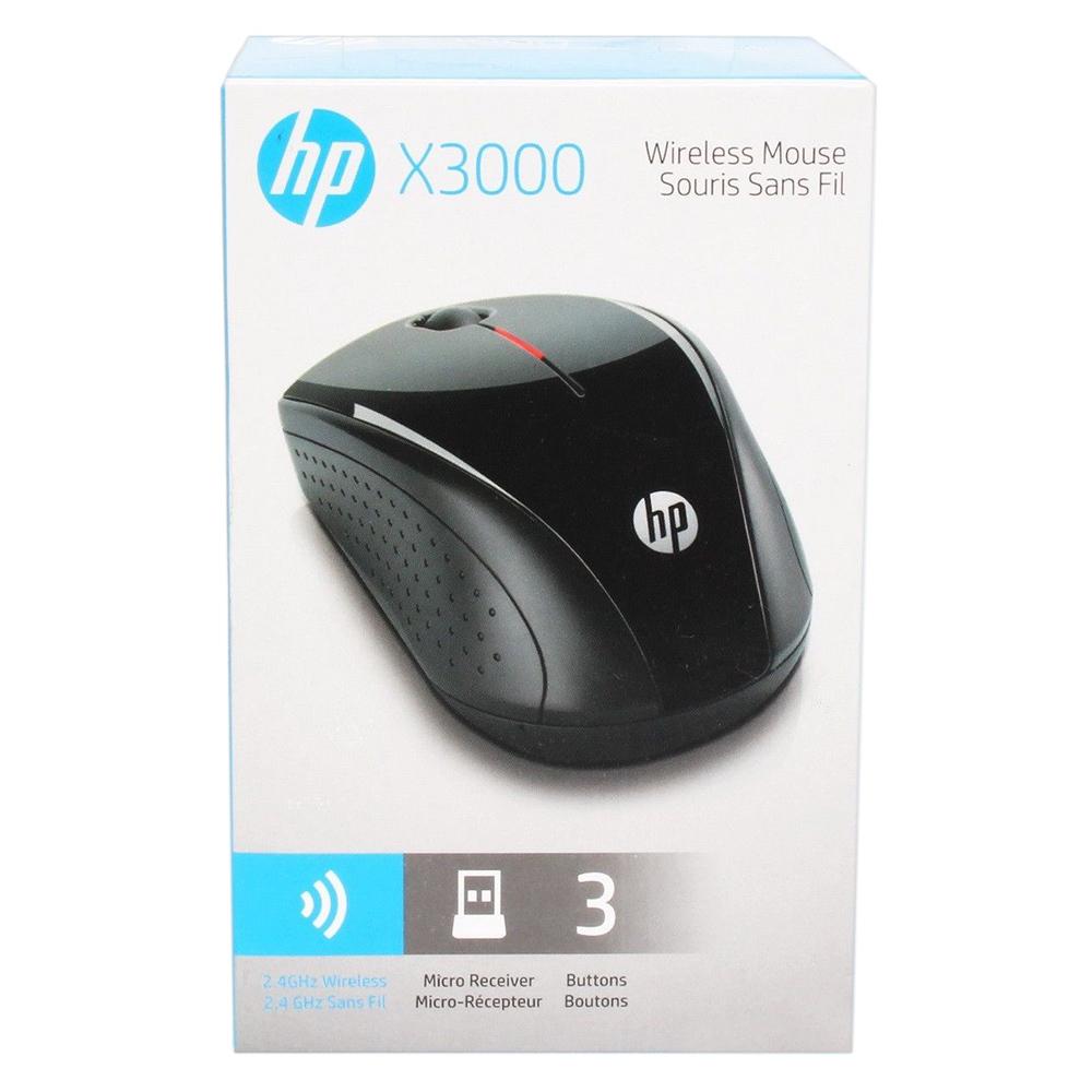 Chuột không dây HP X3000 màu đen
