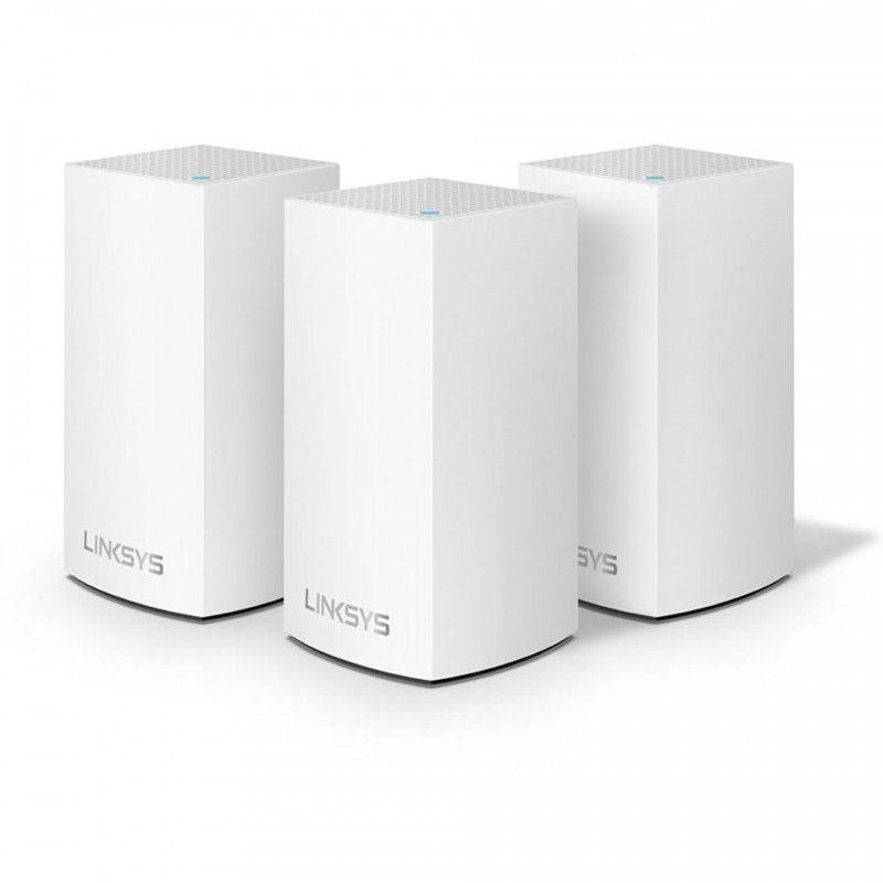 ROUTER WIFI LINKSYS VELOP MX12600-AH TRI-BAND AX4200 INTELLIGENT MESH WIFI SYSTEM WIFI 6 MU-MIMO SYSTEM 3-PACK