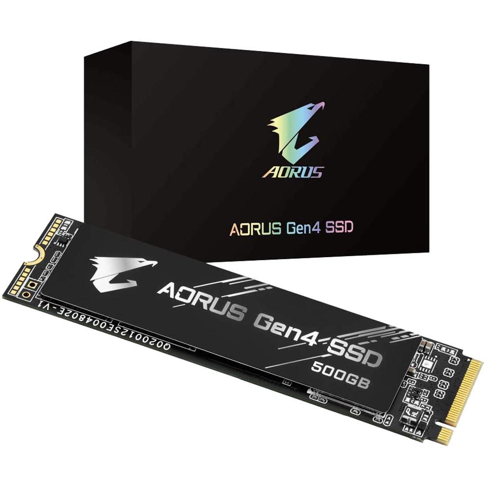 SSD Gigabyte Aorus 500GB PCIe Gen4 x4 NVMe M.2 GP-AG4500G