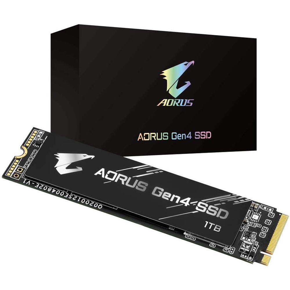 SSD Gigabyte Aorus 1TB PCIe Gen4 x4 NVMe M.2 GP-AG41TB