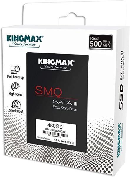 SSD Kingmax SMQ32 480 GB 2.5 Inch SATA 3 3D QLC