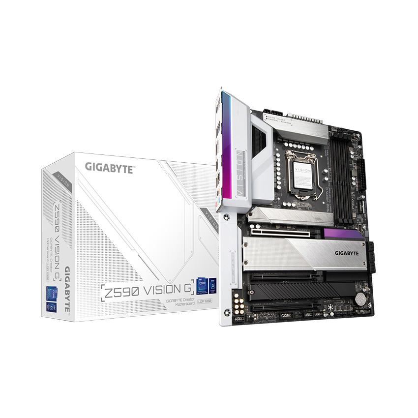 Mainboard Gigabyte Z590 VISION G (Intel Z590, Socket 1200, ATX, 4 khe Ram DDR4)
