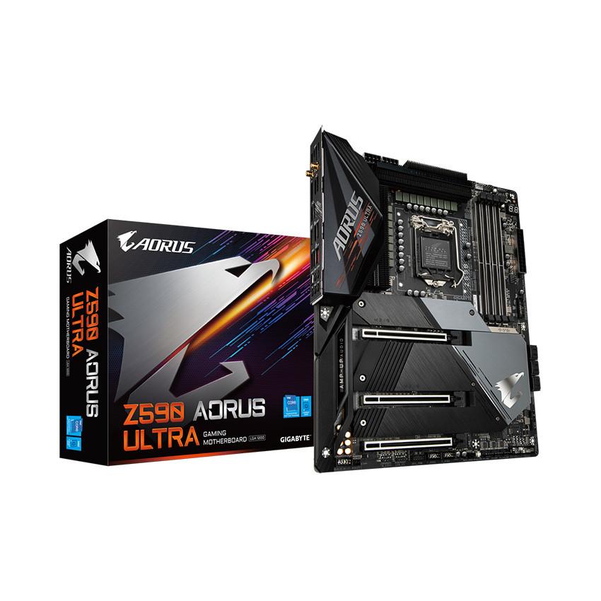 Mainboard Gigabyte Z590 AORUS ULTRA (Intel Z590, Socket 1200, ATX, 4 khe Ram DDR4)