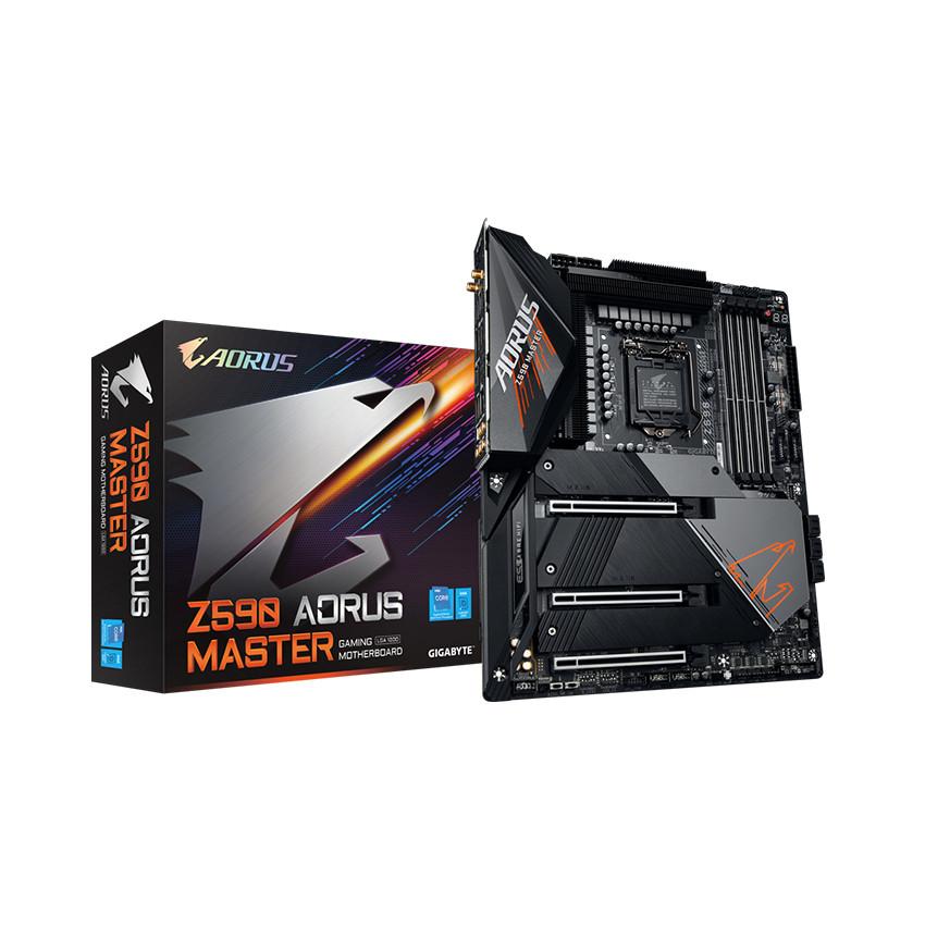 Mainboard Gigabyte Z590 AORUS MASTER (Intel Z590, Socket 1200, ATX, 4 khe Ram DDR4)