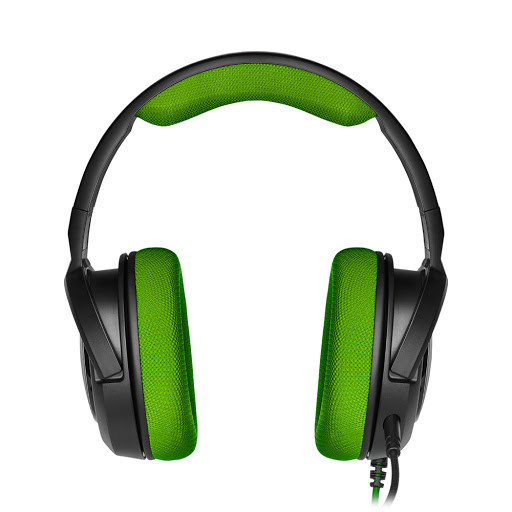 Tai nghe Corsair HS35 Stereo Green Drivers 50mm CA-9011197-AP không kèm jack chia Y