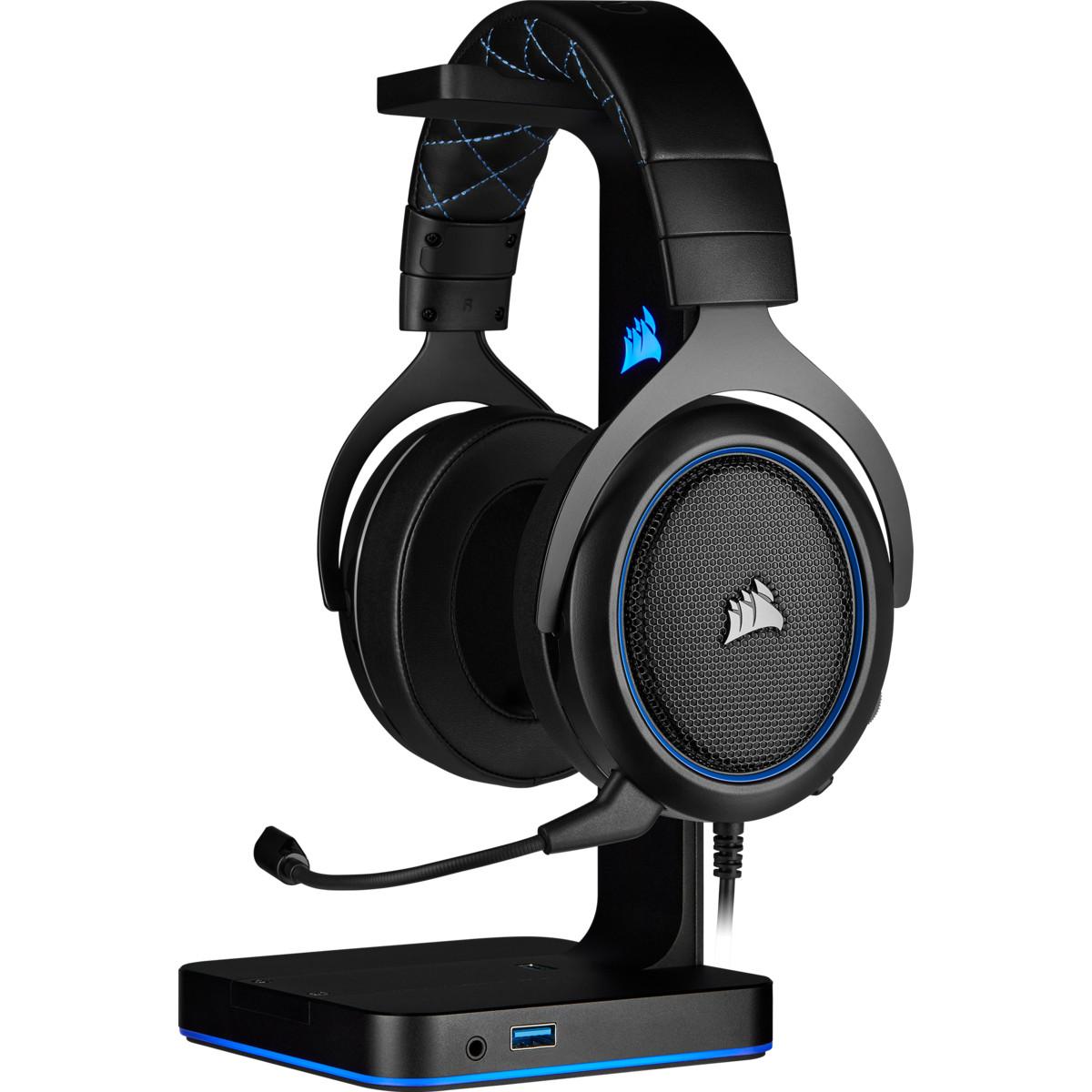 Tai nghe Corsair HS50 PRO Stereo Blue CA-9011217-AP