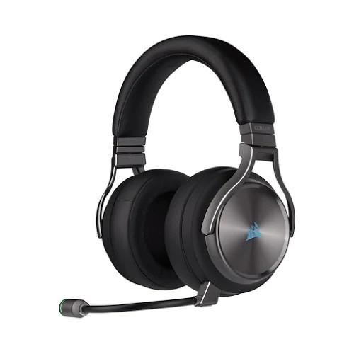 Tai nghe không dây Corsair Virtuoso RGB Gunmetal - 7.1 Surround (CA-9011180-AP)
