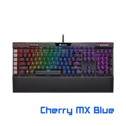 Bàn phím cơ Corsair K95 RGB PLATINUM XT Mx Blue (CH-9127411-NA)