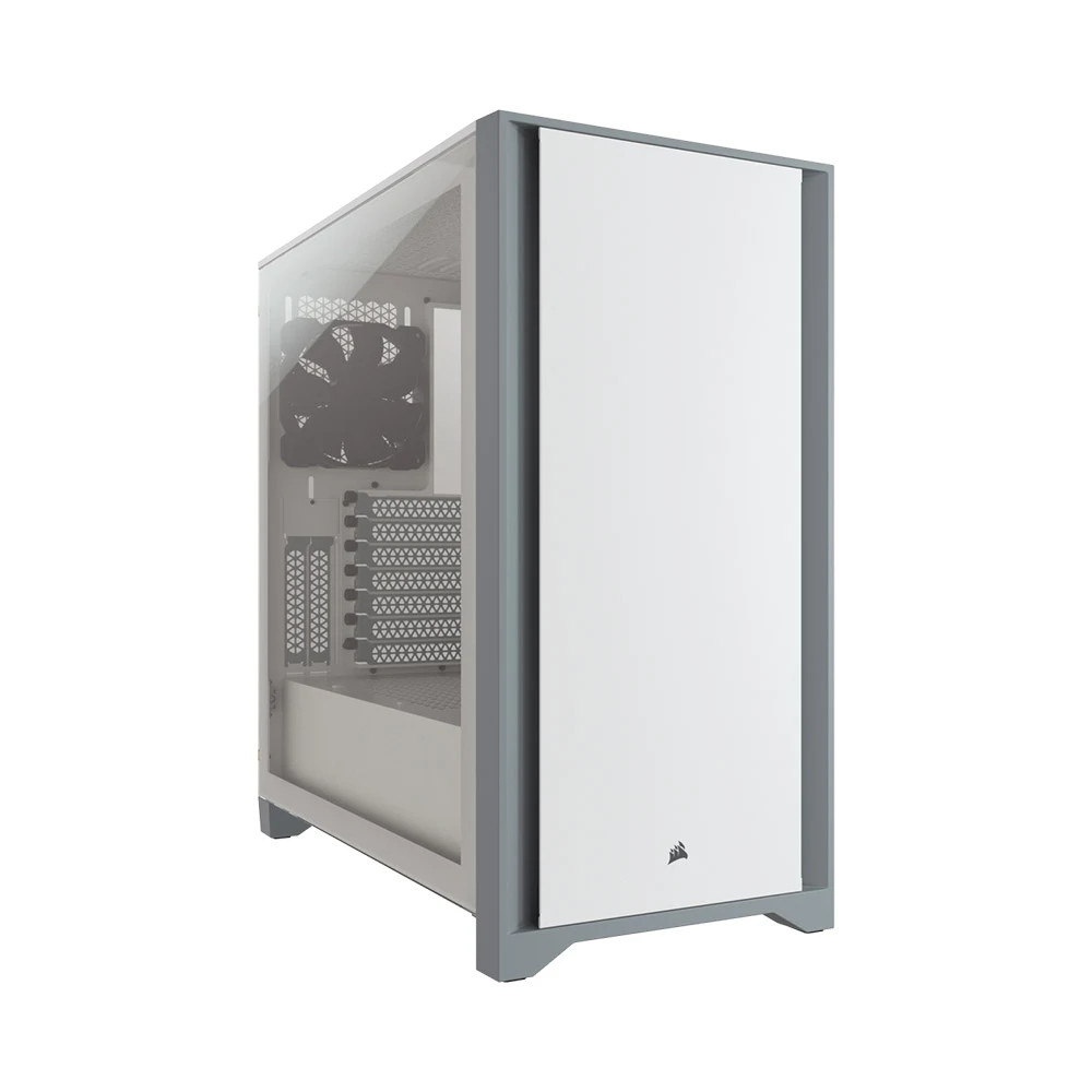 Vỏ máy tính Corsair 4000D TG White - NEW