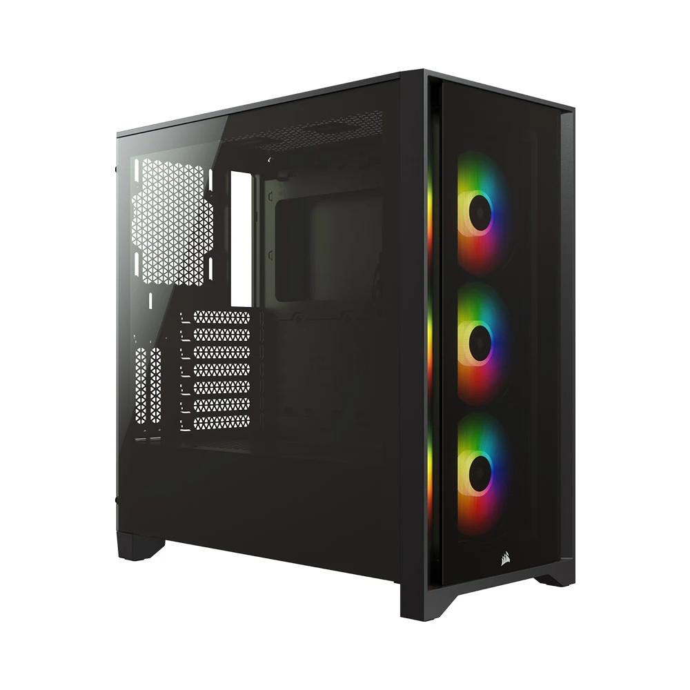 Thùng máy/ Case Corsair iCUE 4000X RGB TG Black (CC-9011204-WW)