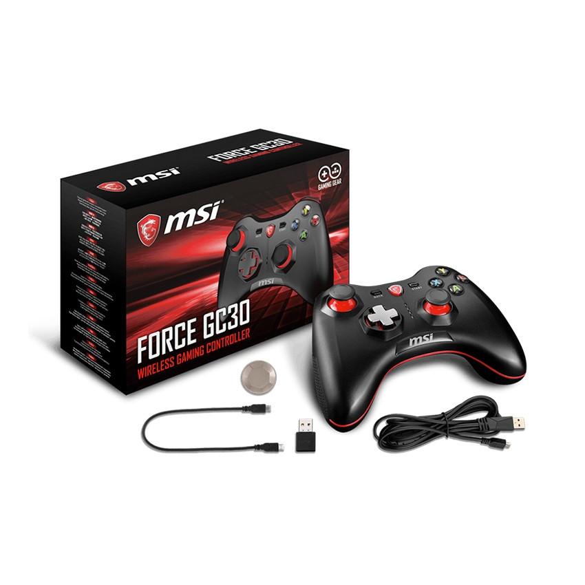 Tay cầm chơi game không dây MSI Force GC30