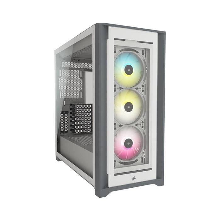 Vỏ máy tính Corsair iCUE 5000X RGB TG White - NEW - CC-9011213-WW
