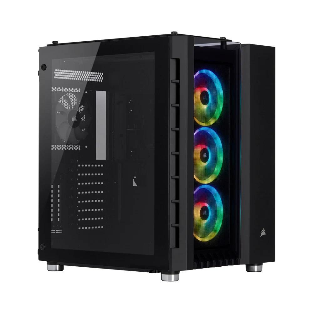 Vỏ máy tính Corsair 680X RGB TG Black - CC-9011168-WW