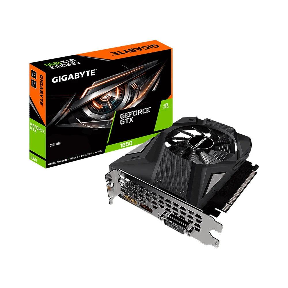Card màn hình GIGABYTE GeForce GTX 1650 4GB GDDR6