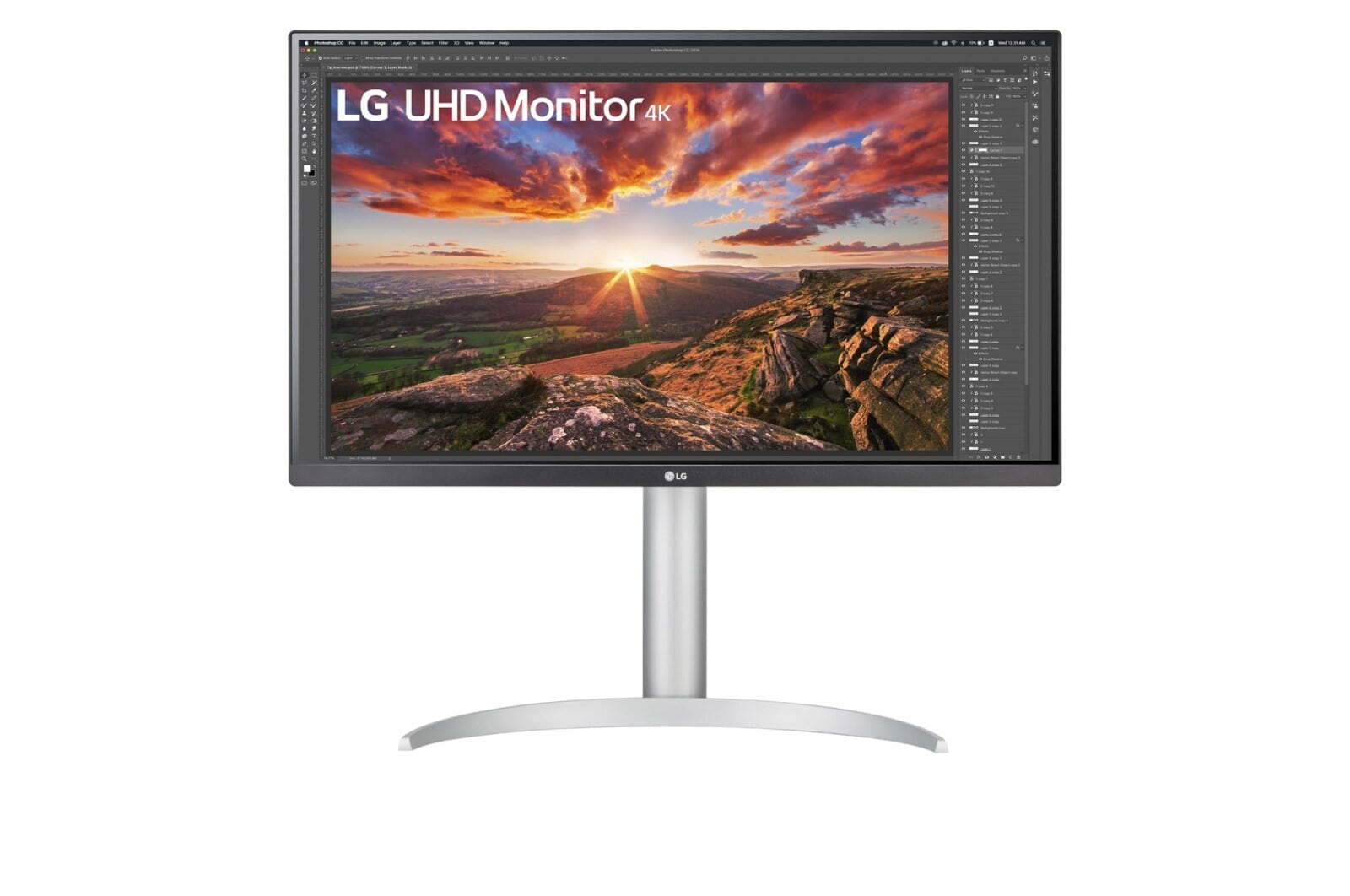 Màn hình máy tính LG 27'' UHD 4K IPS USB-C - 27UP850-W