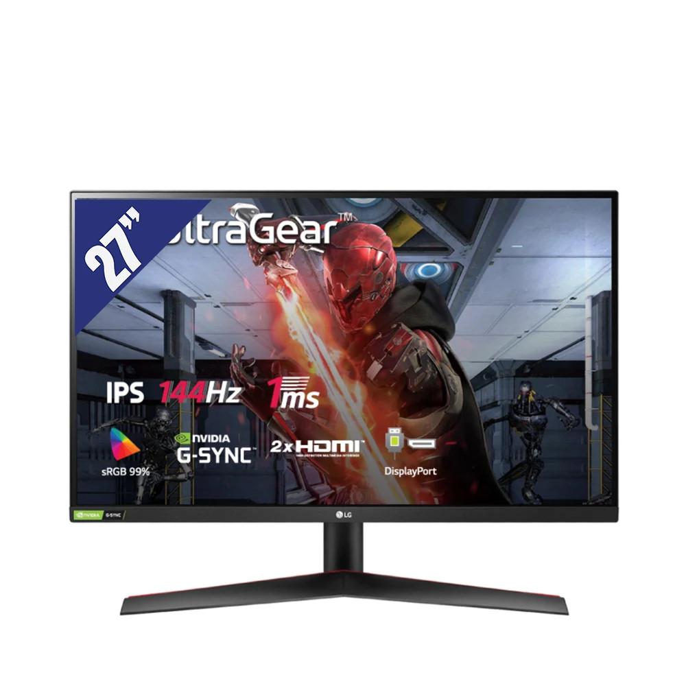 Màn Hình Máy Tính LG 27'' IPS Full HD 144Hz 1ms - 27GN600-B.ATV