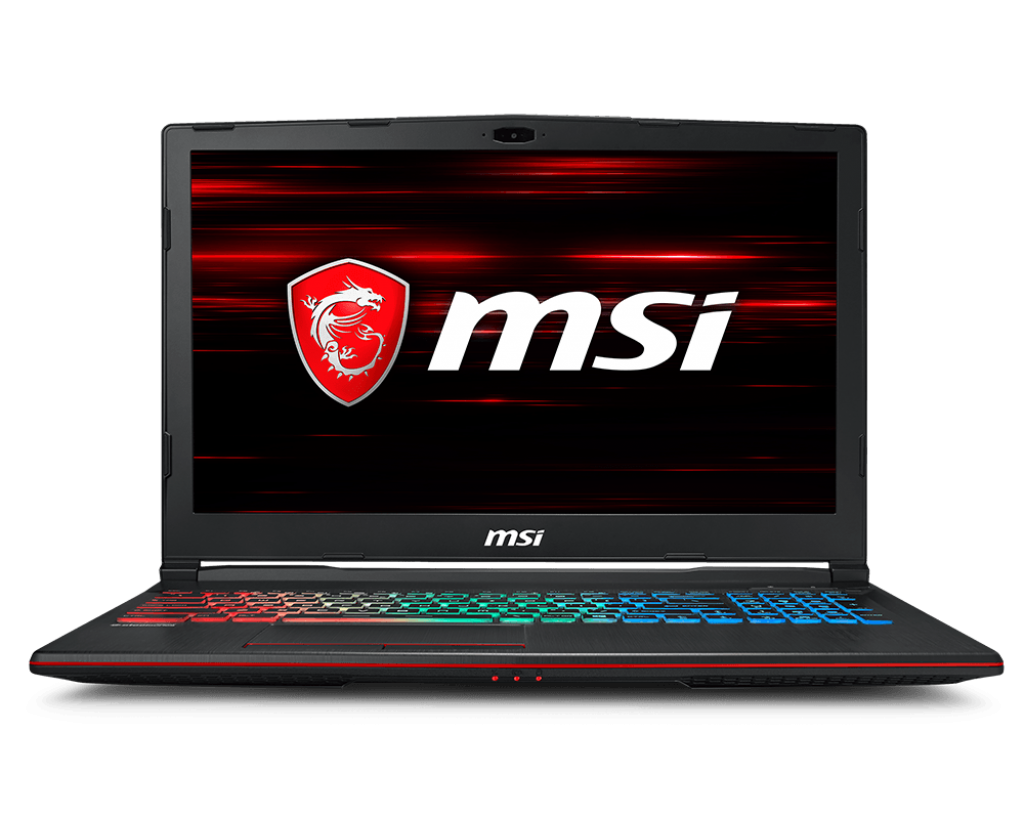 Laptop MSI GP63 8RE-249VN	i7-8750H / 16GB/1TB 7200rpm + 128GB SSD/GTX1060/6GB