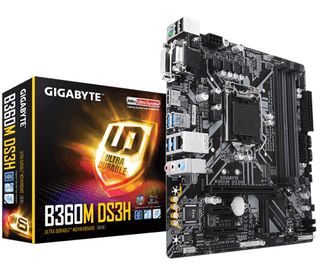 Main Gigabyte B360M DS3H