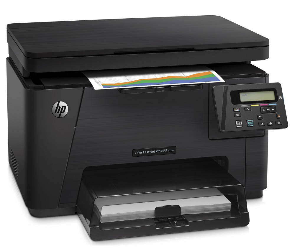 Máy in HP Color LaserJet Pro MFP M176N  Printer ( in, scan, copy ) Network