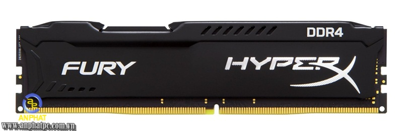 RAM PC Kingston HyperX Fury Black 8GB Bus 2133Mhz