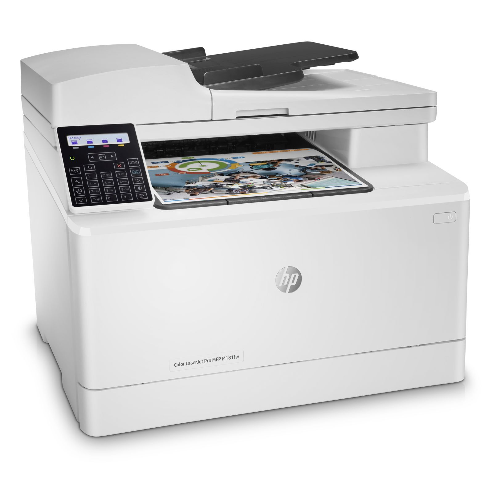 HP Color LaserJet Pro MFP M181FW  Printer ( in, scan, copy, Fax ) Wireless