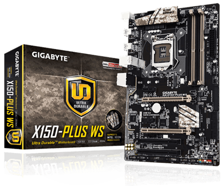 Main Gigabyte X150 PLUS WS