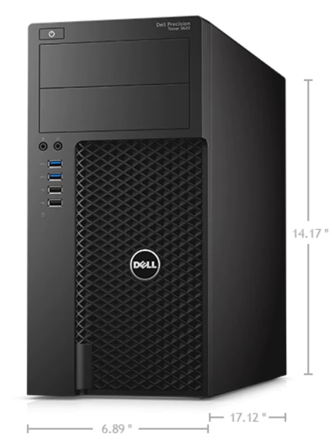 Dell Precision Tower 3620 XCTO BASE - i7 6700