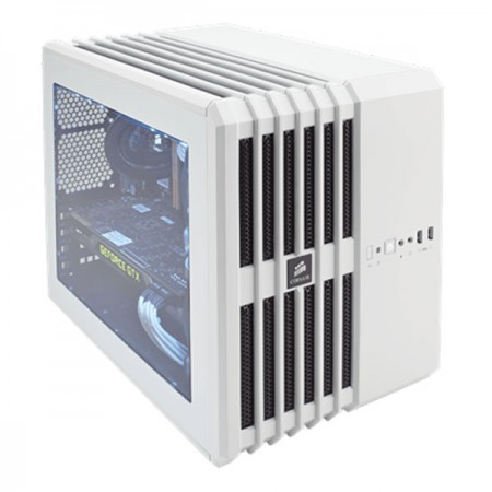 THÙNG CASE CORSAIR - Air 240 White -  Case Mini - ITX - CC-9011069-WW