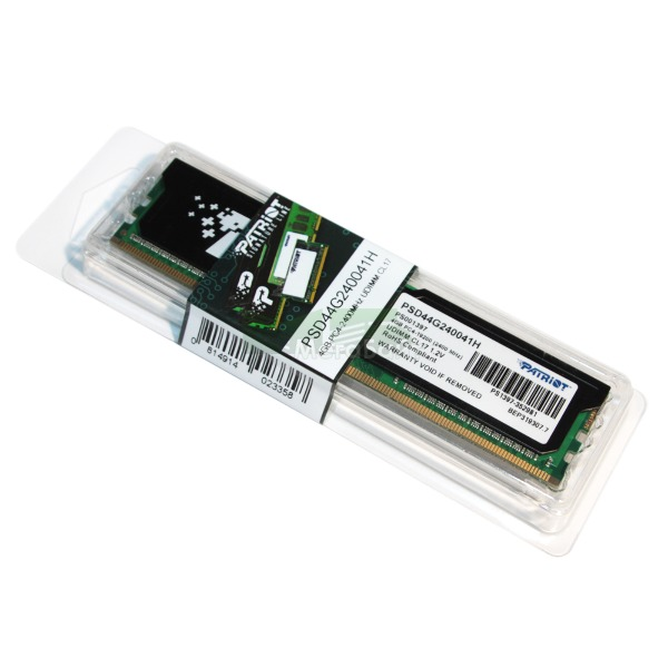 Ram PC Patriot 4Gb Bus 2400 DDR4