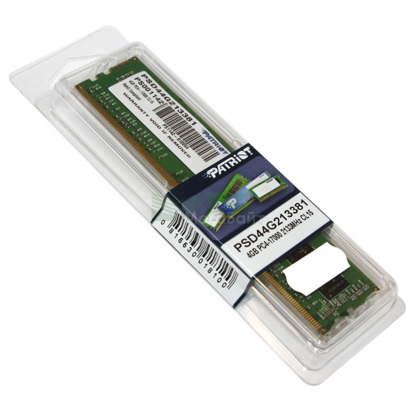 Ram PC Patriot 4GB Bus 2133 DDR4