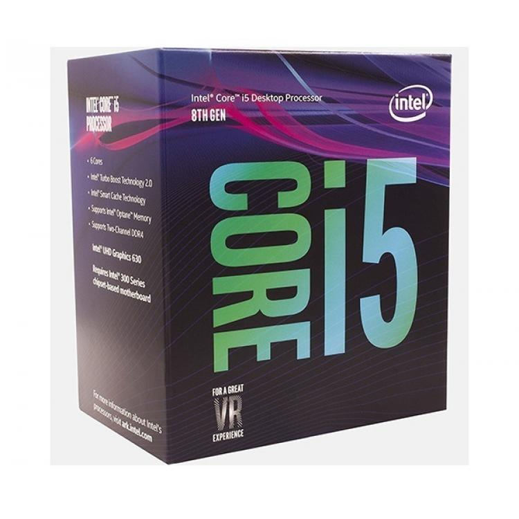 CPU Intel Core I5 8500 Coffee Lake 3.0Ghz Turbo Up to 4.1Ghz - 6 Cores 6 Threads - Socket 1151 v2