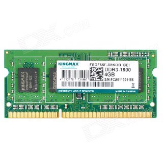 RAM Laptop KINGMAX 1x4GB DDR3L 1600MHz