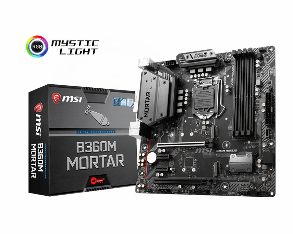 Main MSI B360M MORTAR Socket 1151 v2