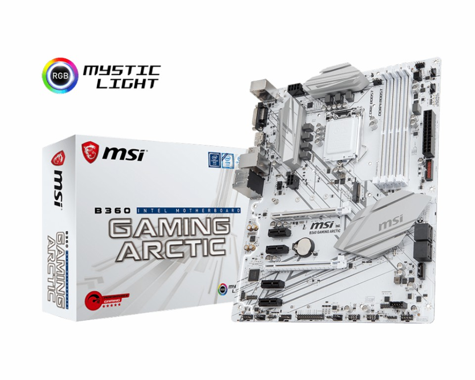 Main MSI B360 GAMING ARCTIC Socket 1151 v2