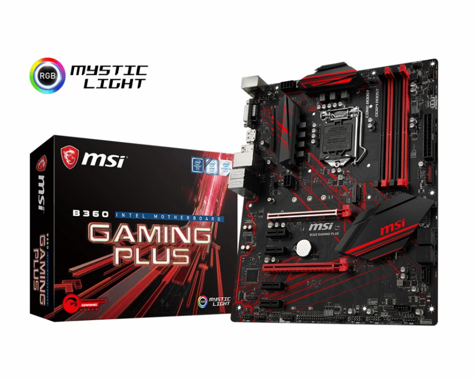 MAin MSI B360 GAMING PLUS Socket 1151 v2