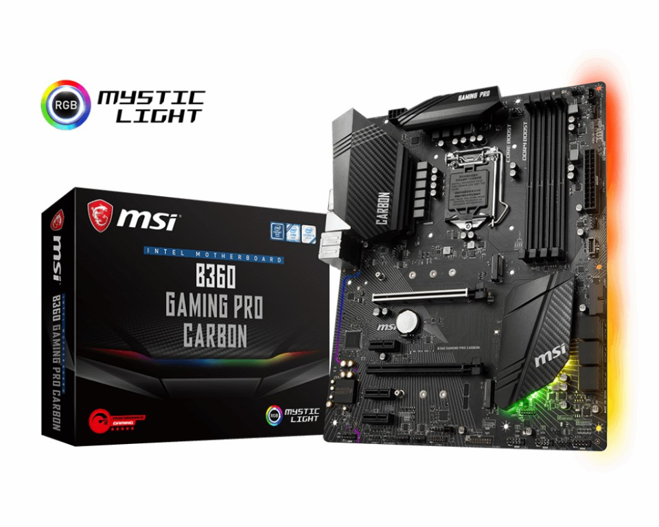 Main MSI B360 GAMING PRO CARBON Socket 1151 v2