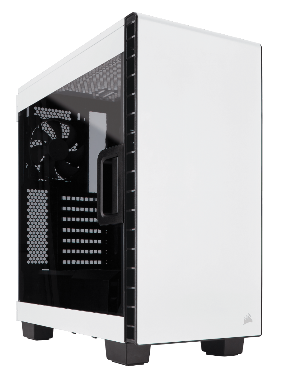 THÙNG CASE CORSAIR - 400C WHITE - CC-9011095-WW
